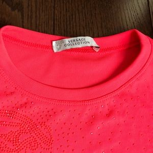 Versace Collection Tops - Versace collection hot pink summer top, size 40